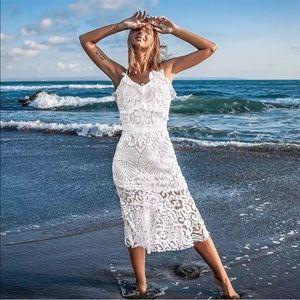Dresses & Skirts - 💃🏻Cassandra White Lace Dress